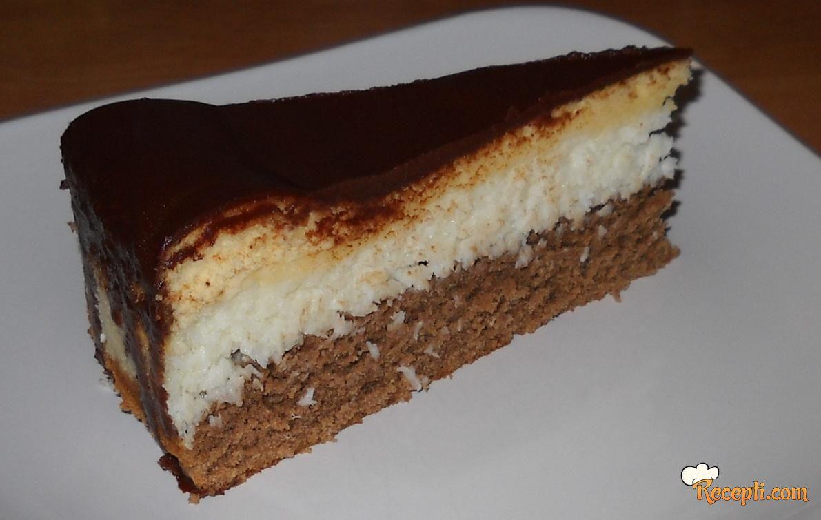 Jednostavna kokos torta