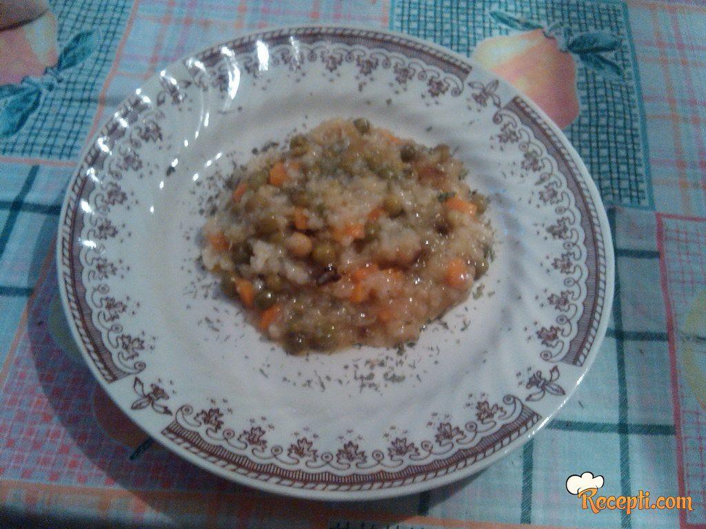 Pilav sa povrćem