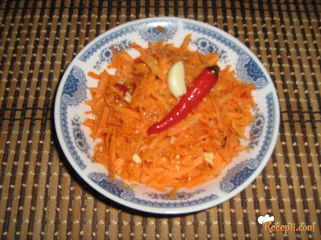 Ljuta salata od šargarepe