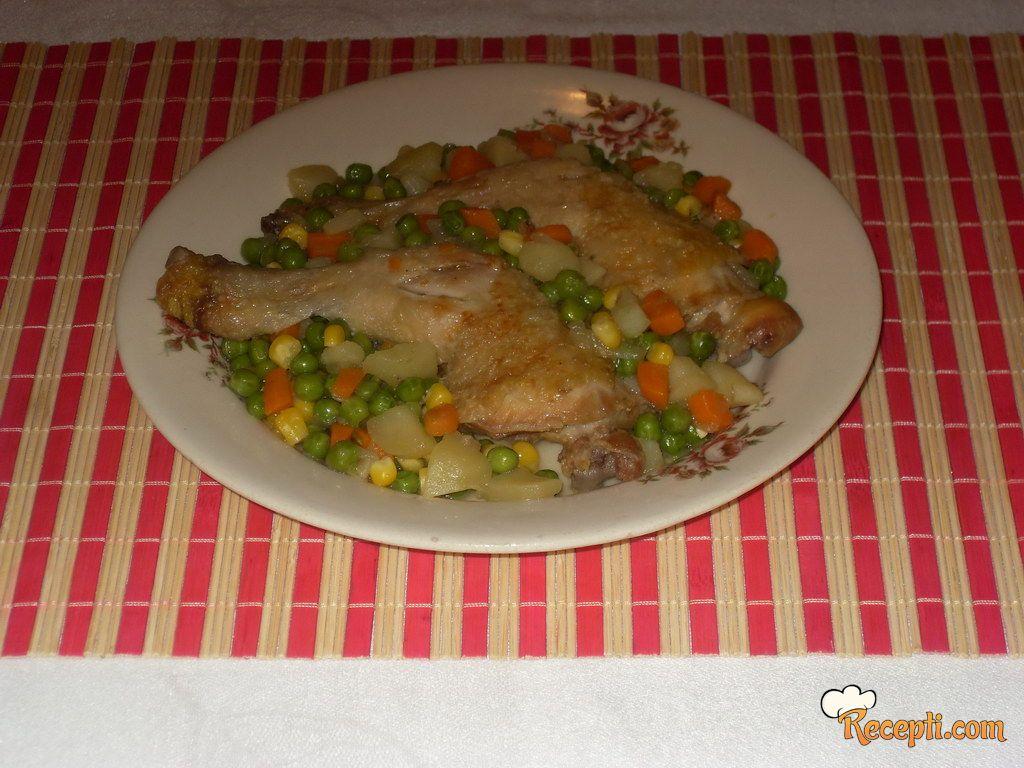 Batak i karabatak sa povrćem