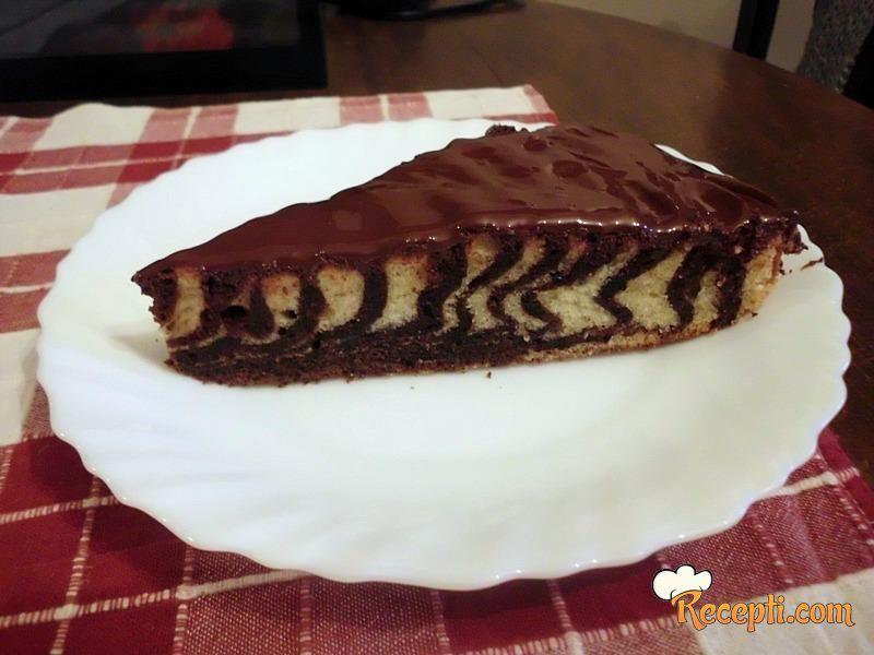 Zebra kolač (2)