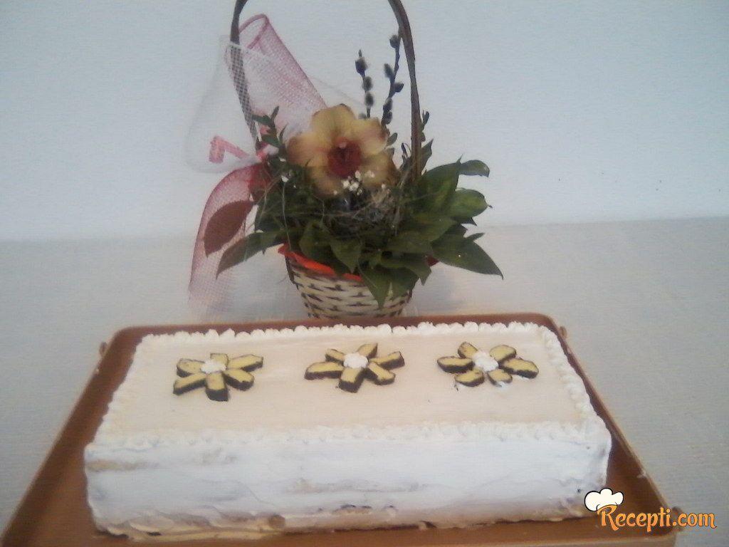 Jednostavna piškota torta