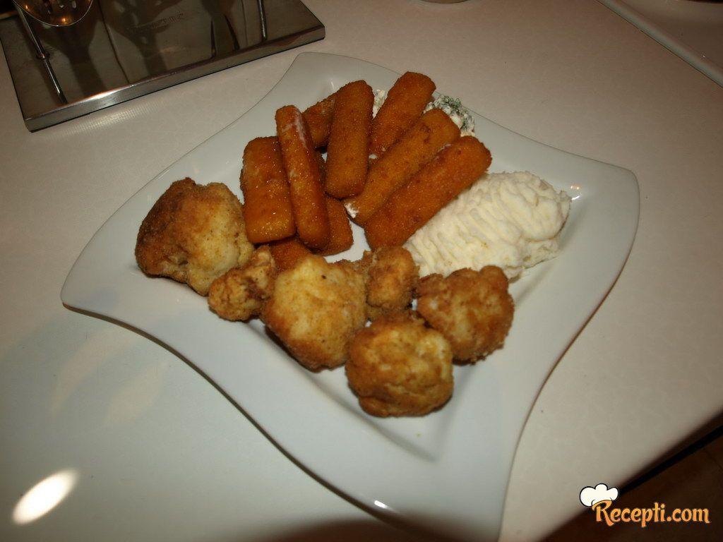 Pohovani karfiol sa krompir pireom