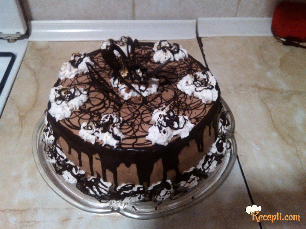 Ferero Rocher torta