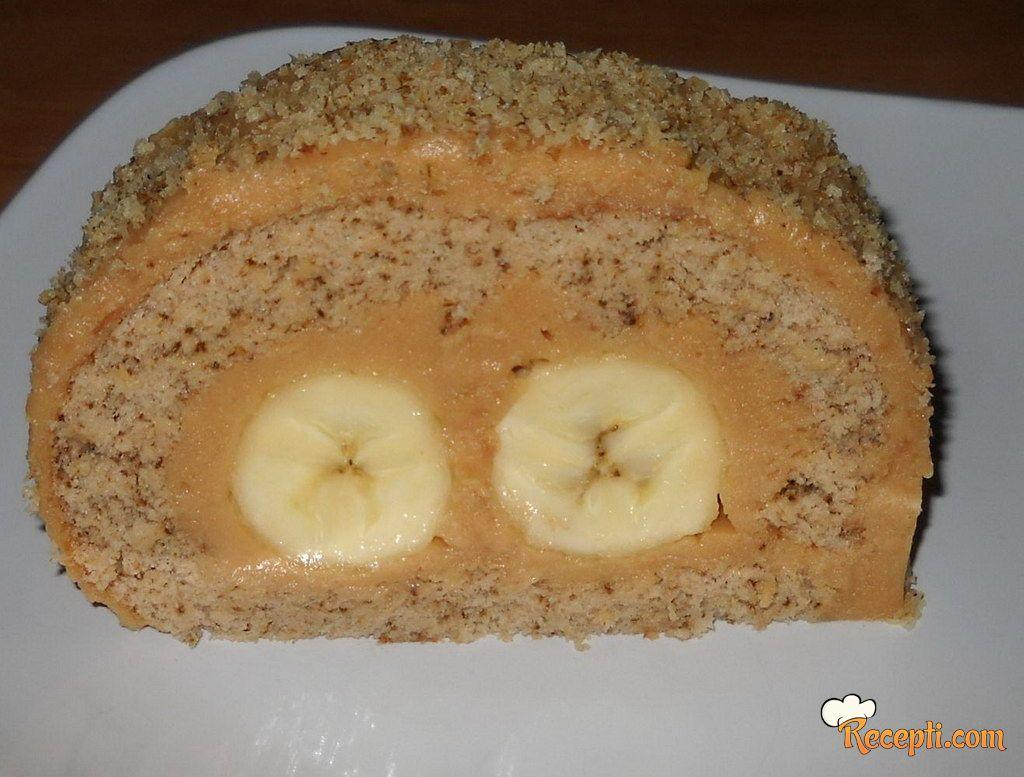 Karamel rolat sa bananama